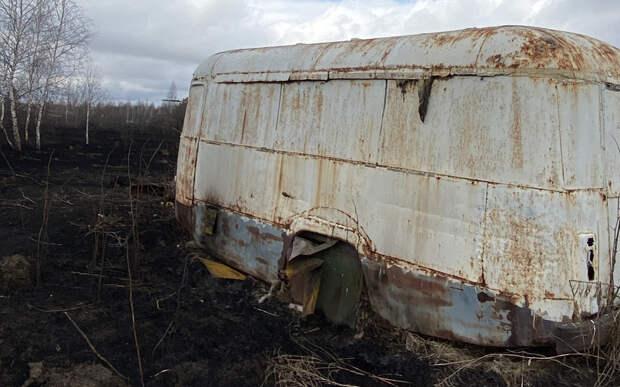 Окрестности сгоревшей рязанской деревни Пахотино. Фоторепортаж