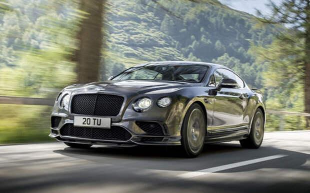 Bentley отзывает автомобили. У них низкое напряжение
