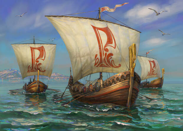 Древнерусские названия морей