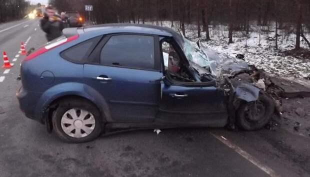 Водитель и пассажир иномарки погибли в результате ДТП с грузовиком в Подольске
