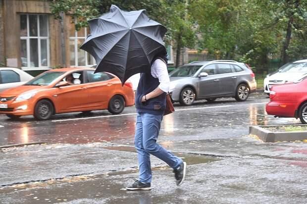 Сильный ветер, гроза и град: Москвичей предупредили о непогоде 14 мая 2021 года