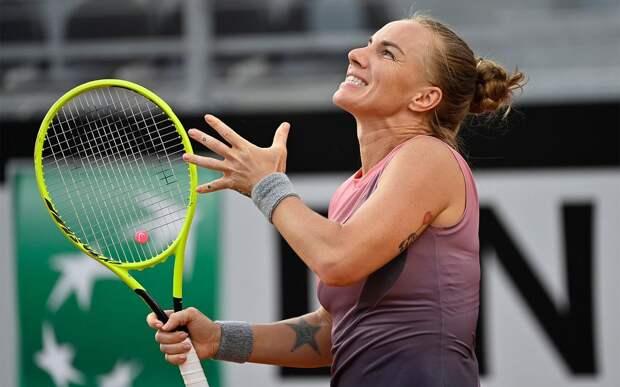 Кузнецова, Павлюченкова и Касаткина опустились на одну позицию в рейтинге WTA