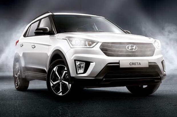 Особая серия Hyundai Creta Rock Edition: цены известны