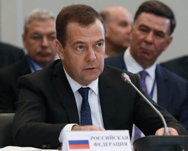 Медведев обсудил поставки российского газа с украинскими политиками