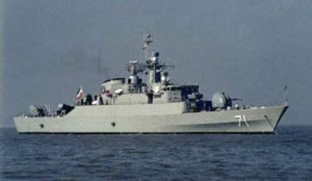 Иранский флот начал покорять Тихий океан