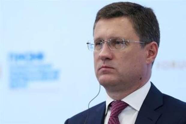 Russian Deputy Prime Minister Alexander Novak attends a session of the St. Petersburg International Economic Forum (SPIEF) in Saint Petersburg, Russia, June 4, 2021. REUTERS/Evgenia Novozhenina