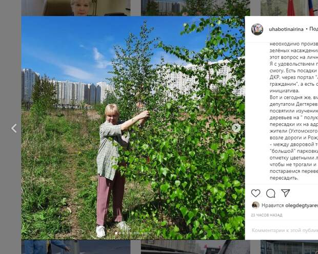 Скудные на деревья дворы в Некрасовке озеленят