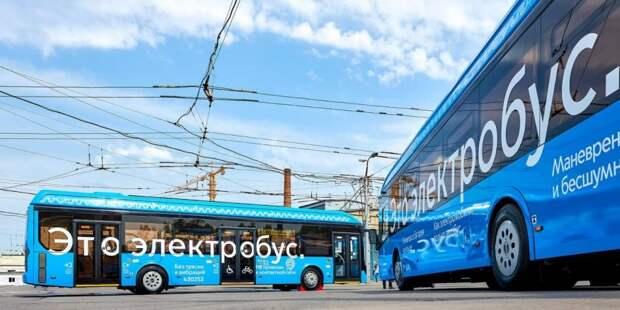 Собянин открыл завод по сборке электробусов в Сокольниках. Фото: М.Денисов, mos.ru