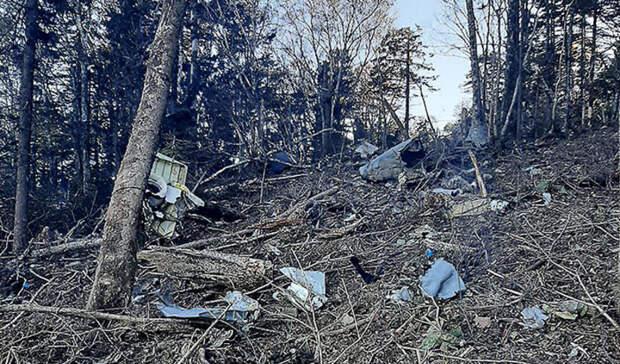 На месте крушения Ан-26 под Хабаровском нашли бортовые самописцы