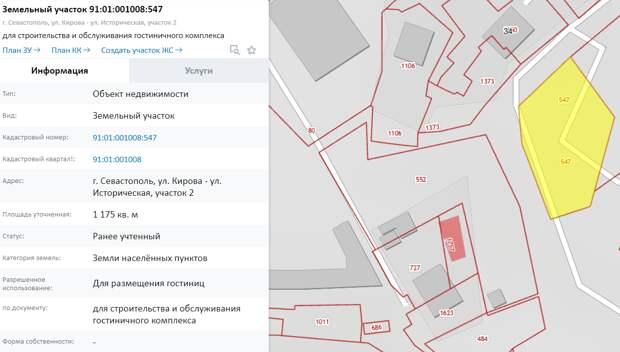 Крупный участок под девелоперский проект выставили на продажу в Балаклаве