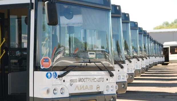 «Мострансавто» увеличит число автобусов в часы пик в понедельник