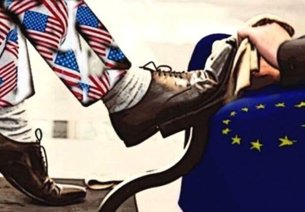 США покажет истинную роль европейцев на мировой арене: Евросоюз получил шанс избавится от рабства