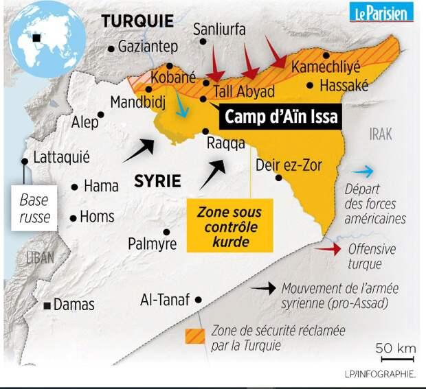 «Мы получили то, что хотели»: Турция о сделке с США по Сирии