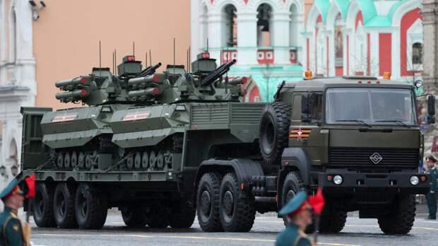 National Interest составил топ-5 лучших образцов вооружения на параде Победы