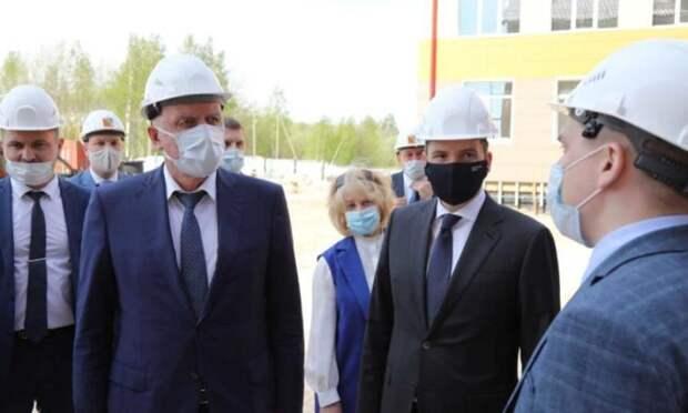 ВАрхангельске срабочей поездкой находится полпред президента РФвСЗФО Александр Гуцан