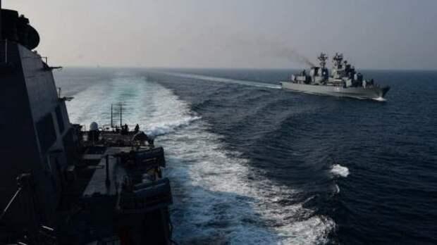 Великобритания: наш эсминец никто не бомбил