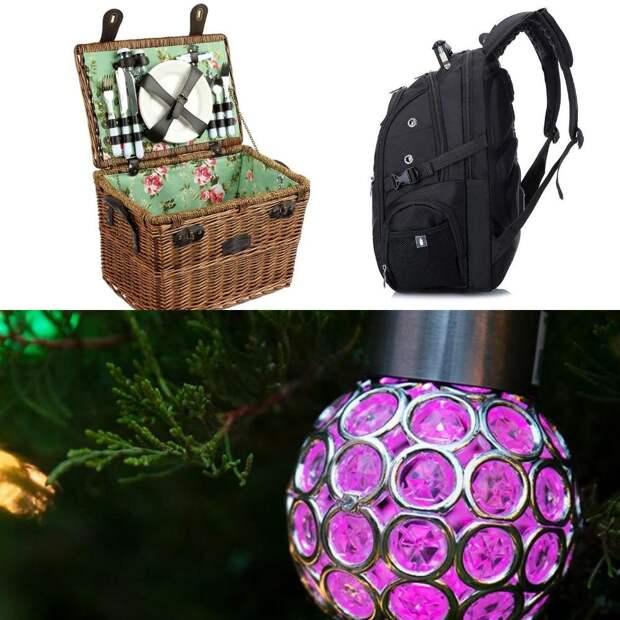 На Алиэкспресс распродажа до 80%! Берем шикарный набор для пикника в стиле прованс, рюкзак с USB и уличную лампу Аладдина