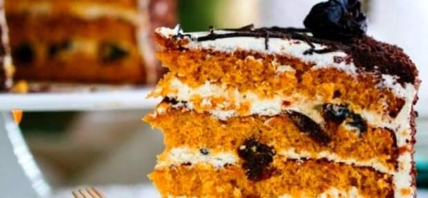 Черносливовый торт