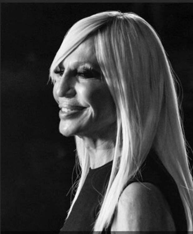 Донателла Версаче признана иконой моды