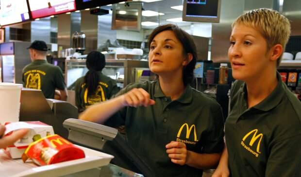 Доход самого низкооплачиваемого работника McDonalds's в США больше, чем у 97% россиян