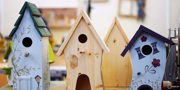 В Бабушкинском парке построят скворечники к Международному дню птиц