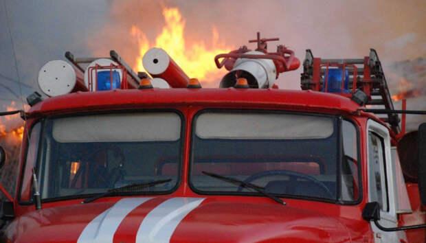 Пожар повышенной категории сложности произошел в Карелии