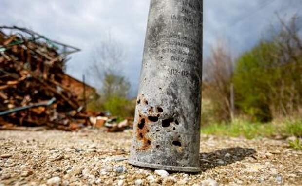 На фото: склад боеприпасов во Врбетице
