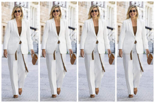 Настроение: одеться во все белое, как королева Ниде...