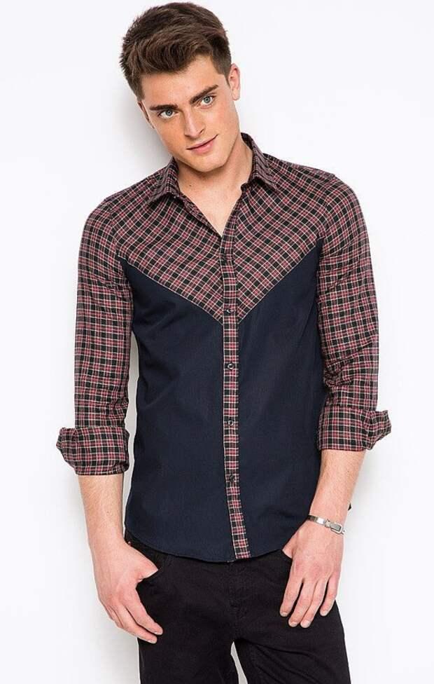 Идея мужской рубашки