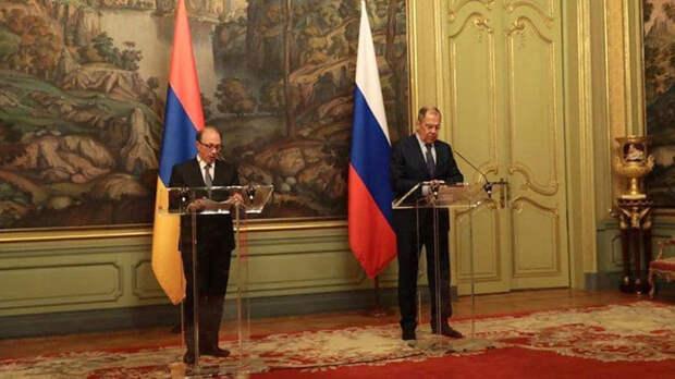 В Ереване началась встреча глав МИД РФ и Армении