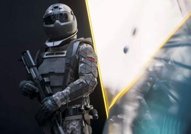 Невероятные возможности новой боевой экипировки «Сотник»