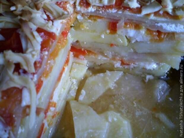 Запеканка из белокочанной капусты