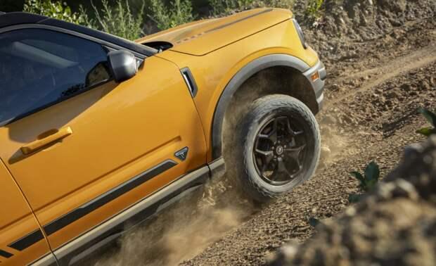 """Ford выпускает внедорожник Bronco Sport, который был """"выращен горными козами"""""""