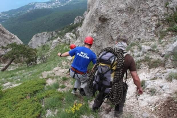 Очередной турист «пострадал» от коварства крымских гор