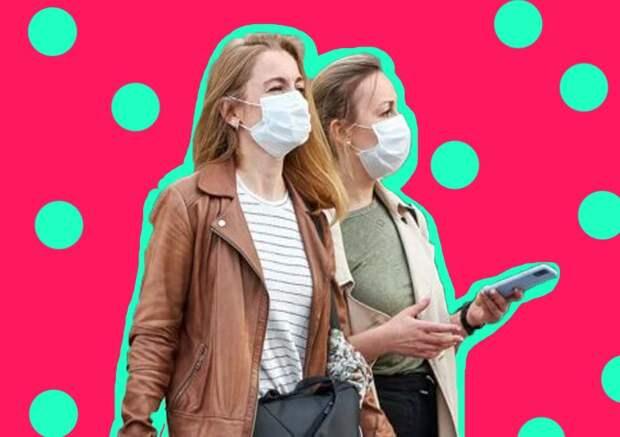 Врач объяснил бессмысленность ношения масок на улице: «вирус сам не напрыгнет»