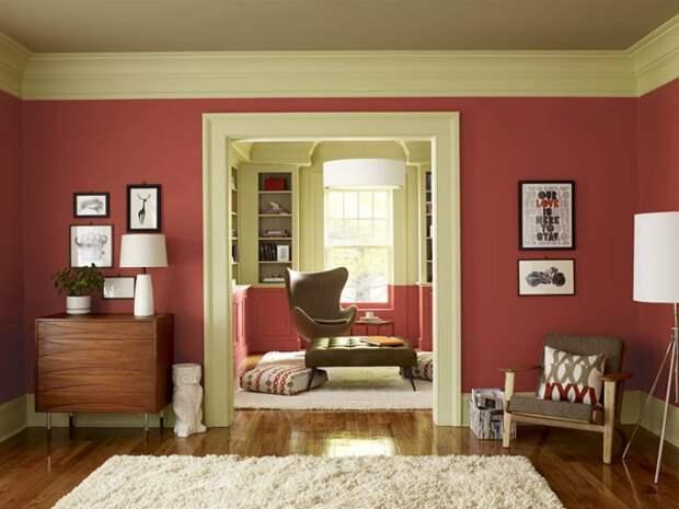 Как подобрать цвет стен в интерьере