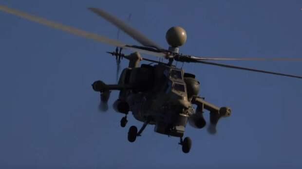 Вертолет Ми-28НМ вооружили ракетами нового поколения