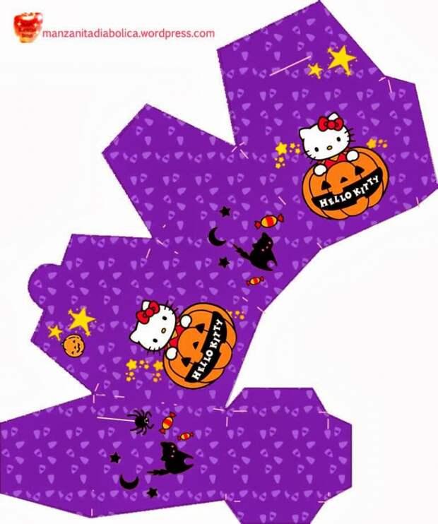 Коробочки для Хеллоуина (трафик)