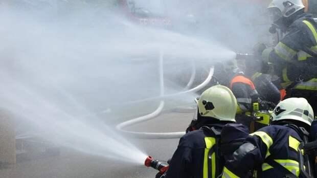 МЧС наградило кадетов за спасение людей во время пожара в московской гостинице