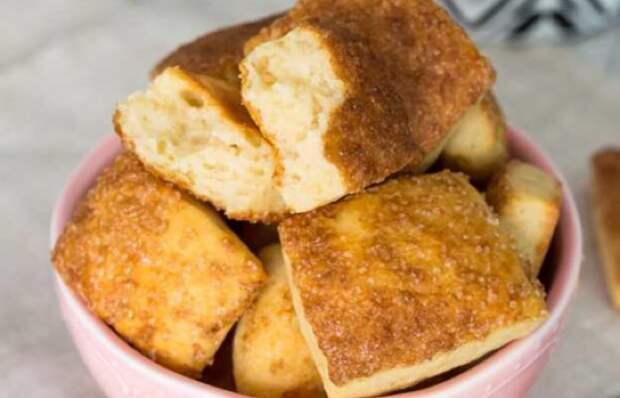 Вкуснейшее мягкое печенье на кефире