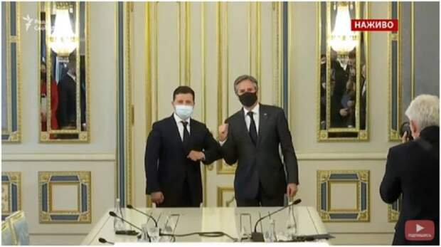 Стали известны основные итоговые пункты встречи Владимира Зеленского с Энтони Блинкеном