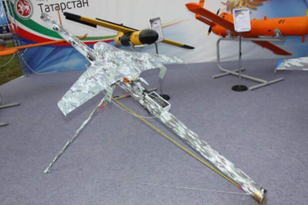 Видеозапись полета российского беспилотника «Элерон-3СВ» появилась в интернете (видео)