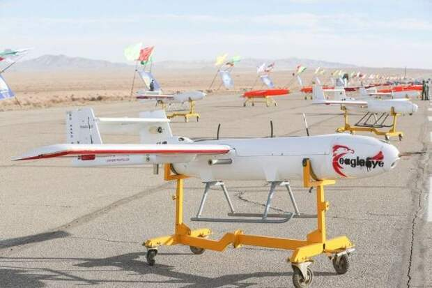 Иран наводит наИзраиль свою армию дронов отСирии доГазы