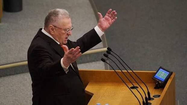 Жириновский рассказал о сохранении девственности ЛДПР