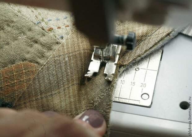 как шить на руках