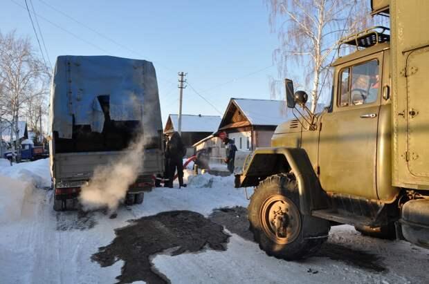 Из-за продолжительных морозов в городах и районах Удмуртии промерзли трубы