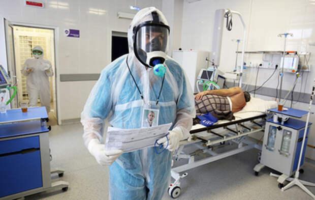 В России за сутки выявили 8217 заболевших коронавирусом