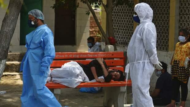 Суточная смертность от COVID-19 в Индии бьет рекорды