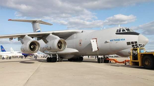 Модернизированный военный транспортник Ил-76МД совершил дебютный полет
