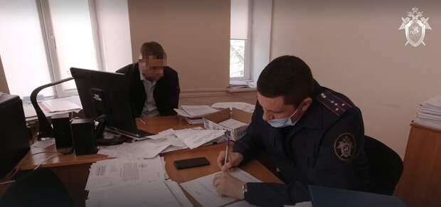 Опубликовано видео задержания начальника департамента имущественных и земельных отношений администрации Евпатории